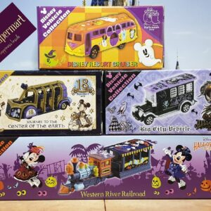 Tomica – Tokyo Disneyland Resort 2019 Halloween Theme 18th Anniversary Journey To The Centre of the Earth Vehicle