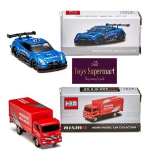 Tomica x Nismo – Calsonic Impul GT-R and Nismo Transporter Set