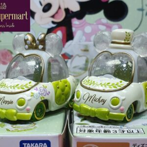 Tomica – Japan Book Fair Exclusive Botanical Party Mickey and Minnie Jewelry Car Pair