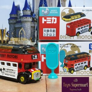 Tomica – Tomica Shop Exclusive Mickey Double Decker Bus
