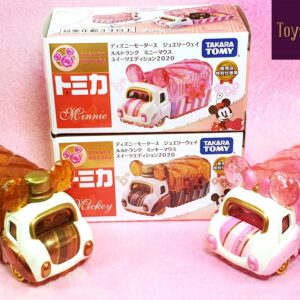 Tomica – Japan 7-Eleven Exclusive 2020 Mickey and Minnie Jewelry Lulu Trunk Set