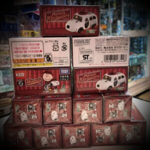 Tomica – Snoopy Town Exclusive Peanuts 70 Anniversary Snoopy Car