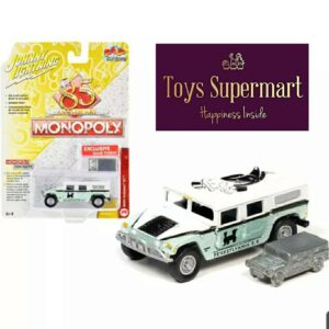 Johnny Lightning – Monopoly 85 Anniversary 2004 Hummer H1 and Token