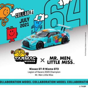 Tarmac Works – Nissan GT-R Nismo GT3 Mr Men and Little Miss